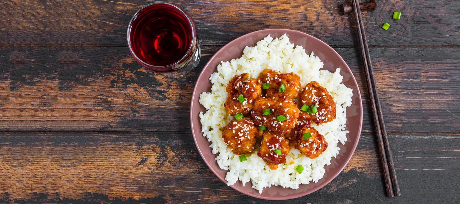 Light Sesame Chicken in 20 minutes