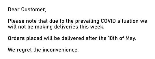 deliverynote